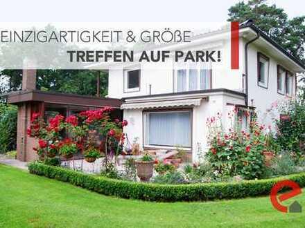 TOLL RENOVIERTE, GROßE UND MEDITERRANE VILLA MIT RIESIGEM 7.800 m²-PARKGRUNDSTÜCK!