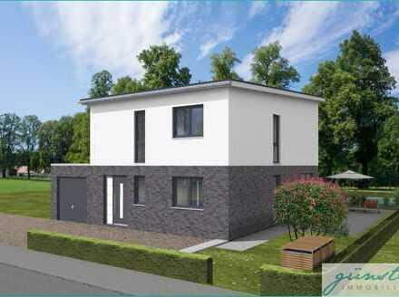 Kamen-Methler: Neubau eines freistehenden Stadthauses in zentraler Lage mit Blick aufs freie Feld!