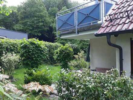 Gepflegte 2- Zimmer EG-Wohnung mit Einbauküche, Terrasse und Garten in Murrhardt