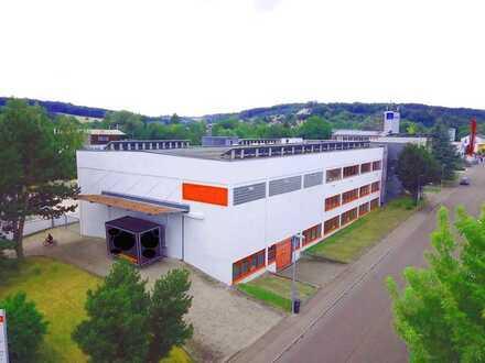 TOP-Rendite: 5,79% Vermietete Gewerbeimmobilie mit freien Flächen im Industriegebiet Ulm-Söflingen