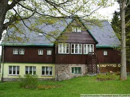Traditionsreiche Pension/ Ferienanlage das ''Hutzenhäusel'' in Altenberg, OT. Schellerhau