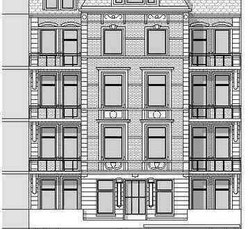 Urban in Hoheluft West gelegene Büro- / Praxisfläche mit ruhiger Terrasse