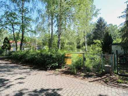 Idyllisch am Waldrand bei Berlin: Großes Grundstück in Schulzendorf, bebaubar mit EFH