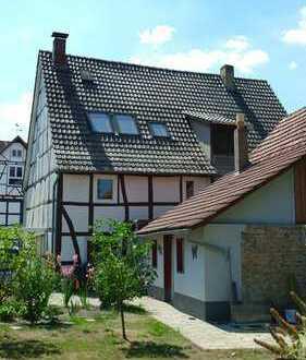 Saniertes Fachwerkhaus in Breuna-Wettesingen