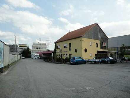 Grundstück mit Gewerbeobjekt entweder Baufläche oder Mietrendite aus bestehender Immobilie