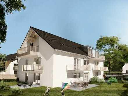 *Garten genießen ohne Arbeit* - 3-Zi.-EG-Wohnung mit 2 Sonnenterrassen in Höhenkirchen-Siegertsbrunn