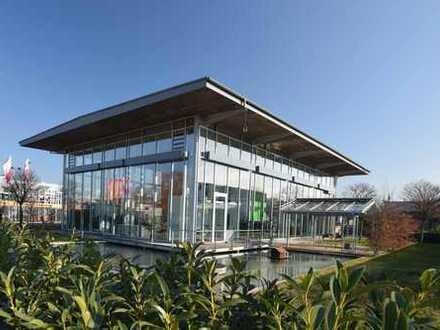 Vielseitig nutzbare - lichtdurchflutete - Ausstellungsfläche mit Büroräumen.