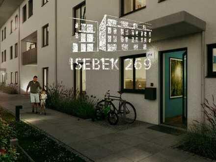 Maisonette mit Südwest-Balkon! 4-Zimmer in ruhiger Hinterhoflage