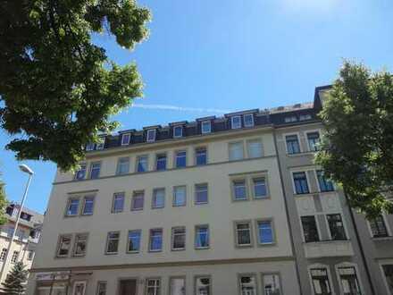 Neu sanierte 2-Raum mit Balkon und schönem Blick ins Grüne !!