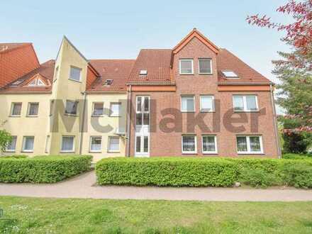 Bewohnte 2-Zimmer-Eigentumswohnung mit Westloggia nahe der Märkischen Schweiz