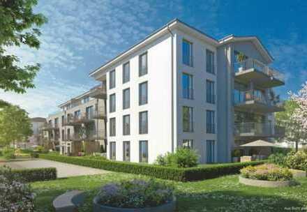 Erstbezug: exklusive 2-Zimmer-EG-Wohnung mit Balkon in Landsberg am Lech