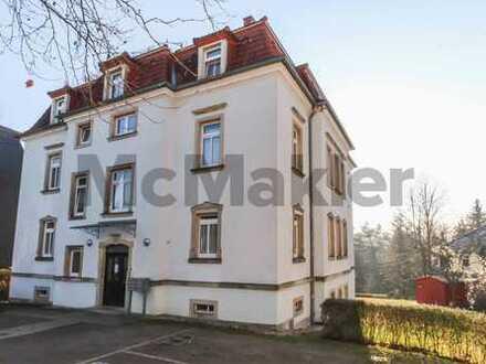 Vermietete Kapitalanlage: Gepflegte 3-Zi.-ETW mit Sonnenbalkon und Pkw-Parkplatz in Dresden-Bühlau