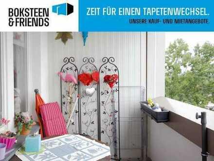 Gepflegte Wohnung mit schönem Balkon und Blick über die Dächer von Voerde!