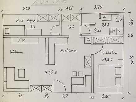 Erstbezug nach Sanierung: Stilvolle 2-Zimmer-Wohnung in Oberpfaffenhofen