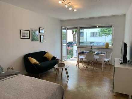 Top-Lage: Wunderschöne 1-Zi-Wohnung mit Balkon