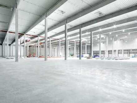"""BAUMÜLLER & CO."" - ca. 10.000 m² Neubau-Logistikfläche - Nähe A6 - 24/7!"