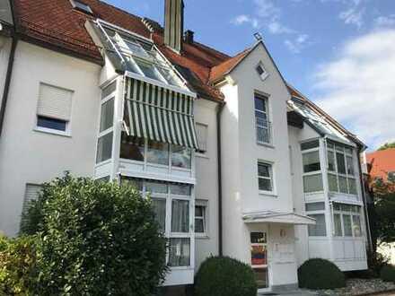 Helle und gepflegte 4-Zimmer-Maisonette-Wohnung in Donauwörth