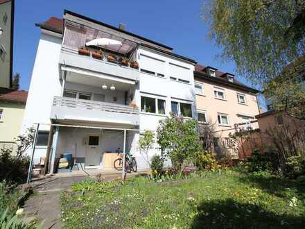 Charmantes 3-Familienhaus mit grüner Oase im Süden in Stuttgart - Bad Cannstatt