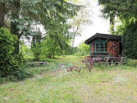 Tolles Freizeitgrundstück ca. 1330 m² mit Hütte u. Baumbestand in 75180 Pforzheim / DW.
