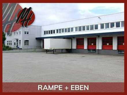 Moderne Lager-/Logistikflächen (1.100-3.900 qm) & Büroflächen (200-1.400 qm) zu vermieten