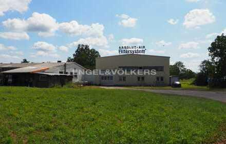 Muggensturm - Hallenfläche mit bebaubarem Grundstück im Mischgebiet - Engel & Völkers Commercial
