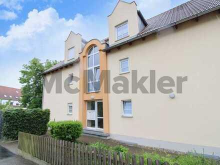Vermietete Etagenwohnung mit EBK und Balkon in ruhiger Lage