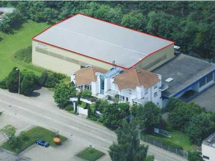 Lagerhalle 600 qm im Industriegebiet West in Aalen zu vermieten