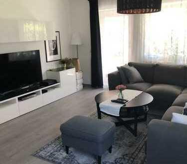 Provisionsfreie & gepflegte 2-Zimmer-Erdgeschosswohnung mit Terrasse, Einbauküche und TG-Stellplatz