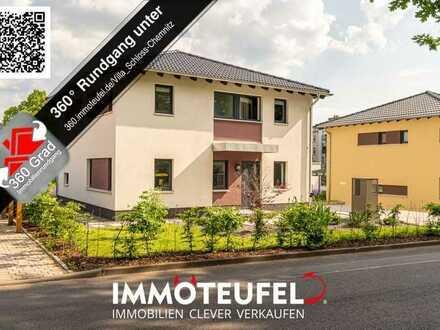 Stolze und neuwertige Stadtvilla in zentraler Lage von Chemnitz - sofort bezugsfertig!