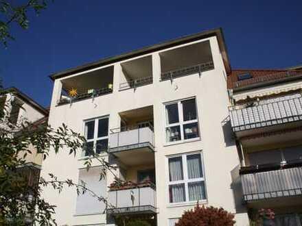 +++ helle, freundliche 2 Zimmerwohnung mit großem Balkon in grüner Umgebung +++