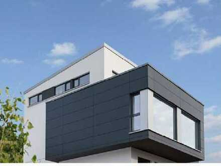 Projektierte freistehende Bauhausvilla in der Villenkolonie Eberstadt