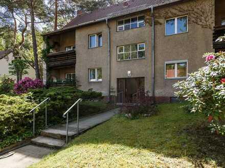 Lohnendes 3-Zimmer-Investment mit Balkon in herrlich grüner Berliner Lage