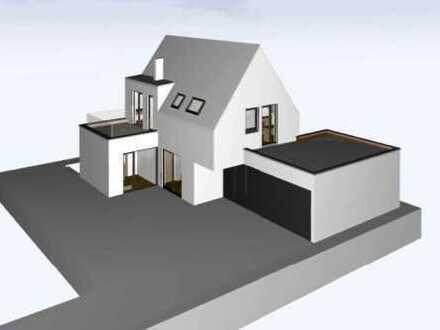 Grundstück inkl. Baugenehmigung & Architektenplanung (EFH) in ruhiger Lage im Bärenkeller-Nord