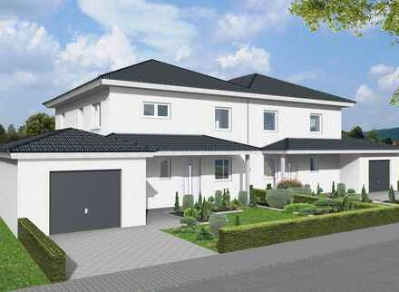 Wunderschöne Doppelhaushälfte KfW55 incl. Garage und 330m² Grundstück