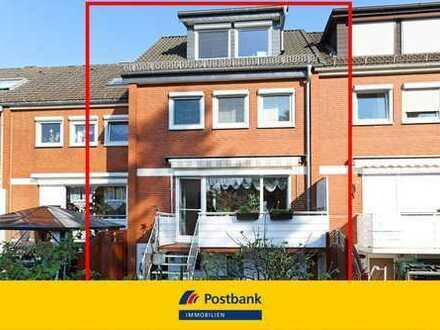 Attraktives Reihenmittelhaus mit Garten und Garage im beliebten Stadtteil Ellenerbrok-Schevemoor