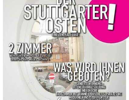 SANIERTE 2 Zimmer Wohnung in Stgt.-Ost