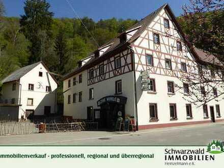Immobilienrarität: Gasthof mit ehemaliger Mühle und 1928 m² großem Grundstück