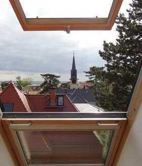 Wunderschöne 3-Zimmer-DG-Wohnung mit Blick über den Weißen Hirsch und Einbauküche
