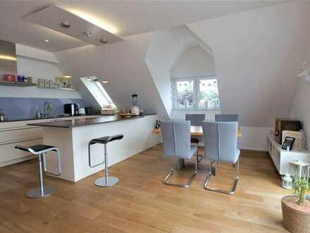 Exklusive Maisonettewohnung mit 5 Zimmern & besonderer Ausstattung in Karlsruhe Neureut