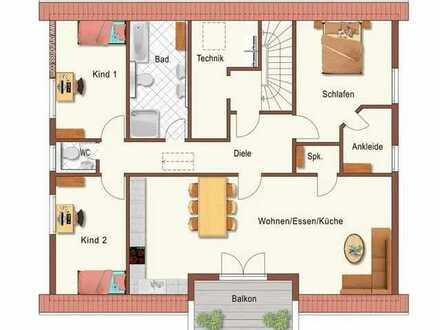 Ansprechende 4-Raum-DG-Wohnung mit EBK und Balkon in Warthausen