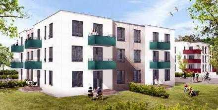 Erstbezug mit Aufzug: Moderne 2-Zimmer-Wohnung mit Balkon am Zentrum
