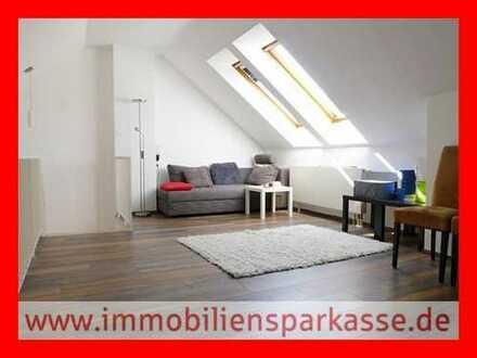 Maisonette-Wohnung mit toller Aussicht!