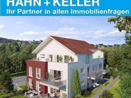 Großzügige 4 Zimmer Neubauwohnung mit offener Küche, Fußbodenheizung und großem Balkon!