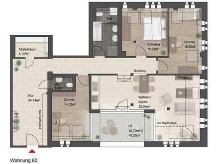 Eine Wohnung mit besonderen Flair!