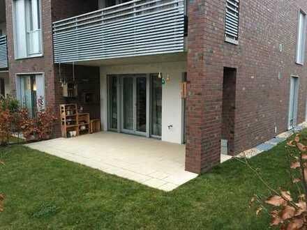 Stilvolle, neuwertige 3-Zimmer-Terrassenwohnung und EBK in Düsseldorf