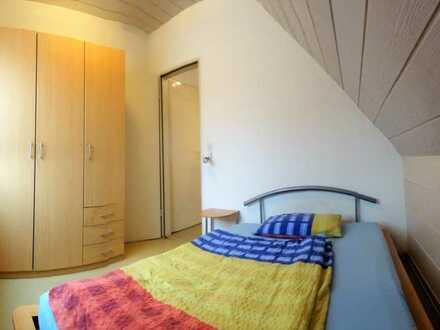 möblierte 2-Zimmerwohnung, löffelfertig, ab 1 Monat mietbar, für eine Person