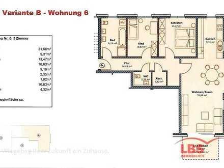 Attraktive Eigentumswohnungen im Herzen von Stühlingen