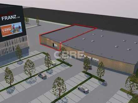 Im Alleinauftrag: Neubauprojekt im Fachmarktzentrum Griesheim