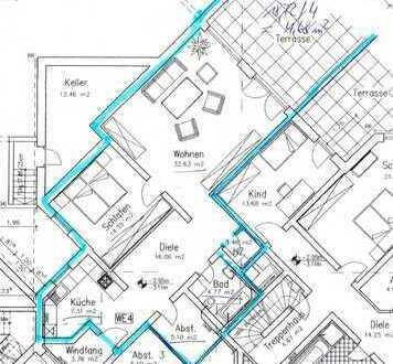 Gepflegte 2-Zimmer-Wohnung mit Balkon und EBK in Bedburg