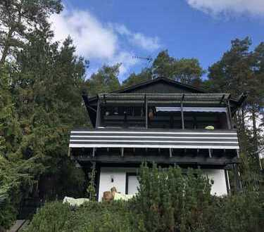 Idyllisch gelegenes Ferienhaus mit Fernsicht mitten im Eifelwald